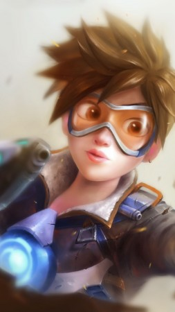 Overwatch, Tracer, poster (vertical)
