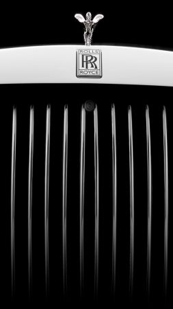 Rolls-Royce Phantom, cars 2017, 8k (vertical)
