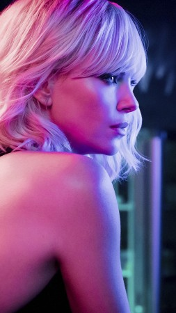 Atomic Blonde, Charlize Theron, Sofia Boutella, 5k (vertical)
