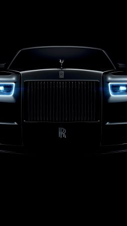 Rolls-Royce Phantom, cars 2018, 4k (vertical)