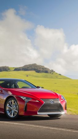 Lexus LC 500, 2018 Cars, 4k (vertical)