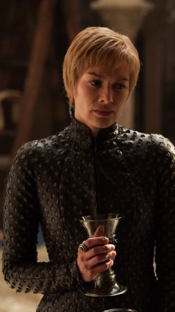 Game of Thrones Season 7, Cersei, Lena Headey, TV Series, 4k (vertical)