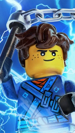 The LEGO Ninjago Movie, Jay Be, 4k (vertical)