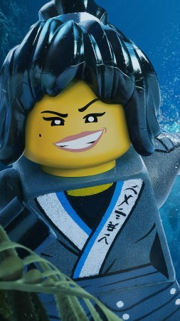 The LEGO Ninjago Movie, Nya, 4k (vertical)