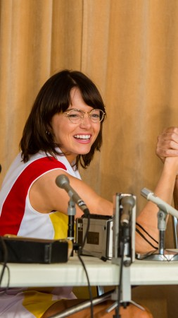 Battle of the Sexes, Emma Stone, Steve Carell, 5k (vertical)