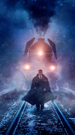 Murder on the Orient Express, Kenneth Branagh, 4k (vertical)