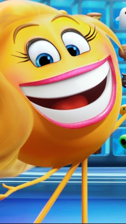 Emojimovie: Express Yourself, smiley, 5k (vertical)