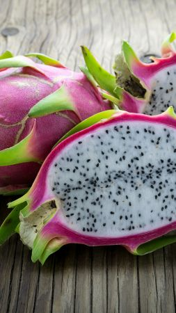 dragon fruit, pitaya, 5k (vertical)
