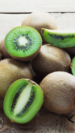 kiwi, fruit, 4k (vertical)