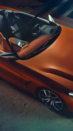 BMW Z4, Roadster, Cars 2018, 5k (vertical)