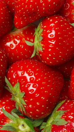 strawberry, 8k (vertical)