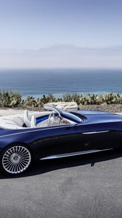 Mercedes-Maybach 6, electric cars, 8k (vertical)