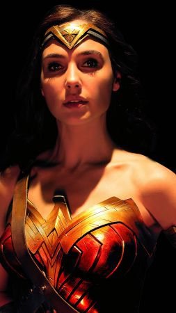 Justice League, Wonder Woman, Gal Gadot, 4k (vertical)