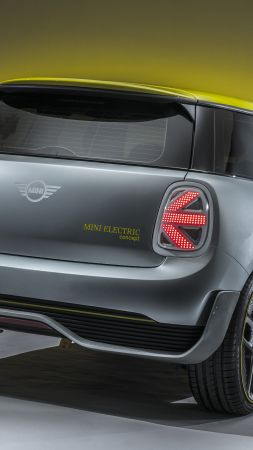 Mini Electric, electric car, 8k (vertical)