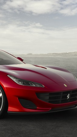 Ferrari 812 Superfast, 4k (vertical)
