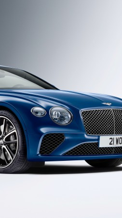 Bentley Continental GT, cars 2017, 4k (vertical)