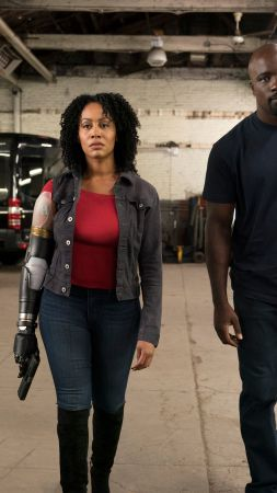 Luke Cage, Mike Colter, Simone Missick, TV Series, HD (vertical)