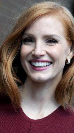 Jessica Chastain, beauty, HD (vertical)