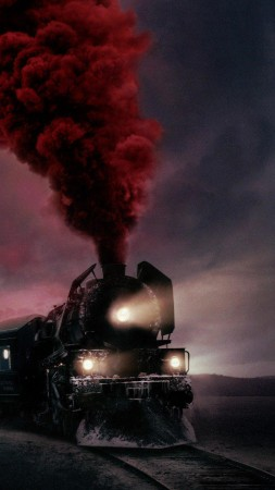 Murder on the Orient Express, train, 4k (vertical)