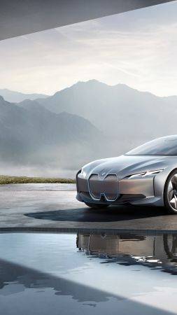 BMW i Vision Dynamics, electric car, 4k (vertical)