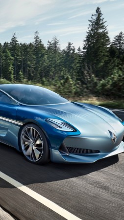 Borgward Isabella, electric car, 4k (vertical)