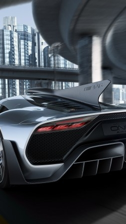 Mercedes-AMG Project One, hypercar, 5k (vertical)