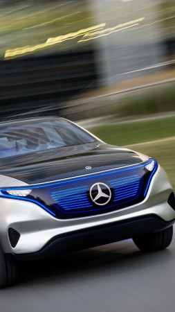 Mercedes-Benz Concept EQ, electric car, 8k (vertical)