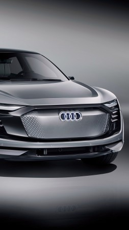 Audi Elaine, electric car, 4k (vertical)