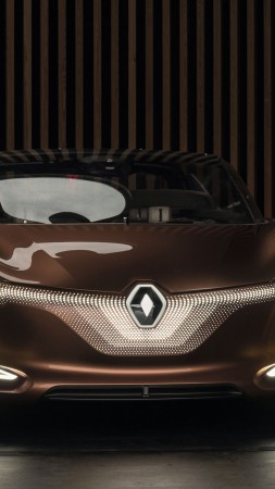 Renault Symbioz, electric car, 4k (vertical)