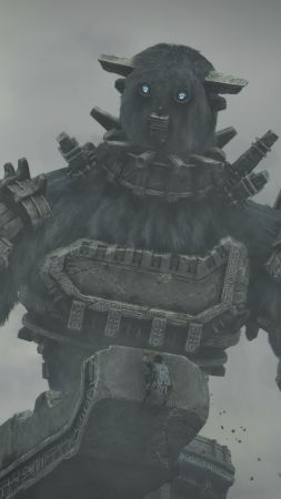Shadow of the Colossus 2, Tokyo Game Show 2017, screenshot, 4k (vertical)