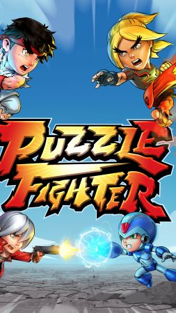 Puzzle Fighter, poster, 5k (vertical)