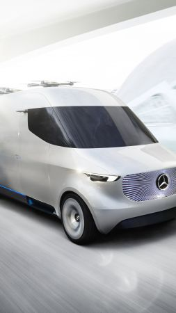 Mercedes-Benz Sprinter Vision Van, electric car, 5k (vertical)