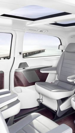 Mercedes-Benz Sprinter Vision Van, electric car, interior, 5k (vertical)