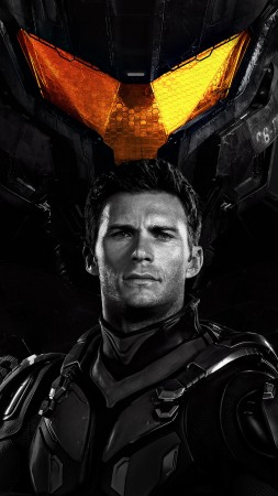 Pacific Rim: Uprising, Scott Eastwood, 4k (vertical)