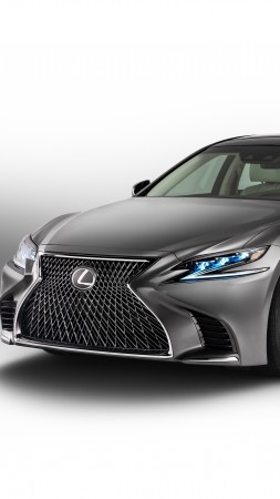 Lexus LS 500, 2018 Cars, 4k (vertical)