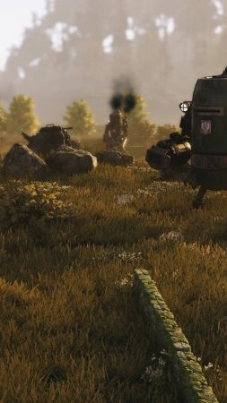 Iron Harvest, screenshot, 4k (vertical)