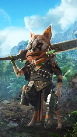 Biomutant, poster, HD (vertical)