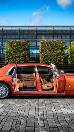 Rolls Royce Phantom EWB, cars 2017, 4k (vertical)