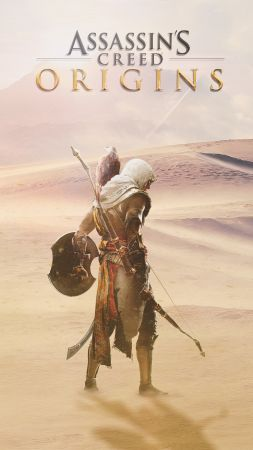 Assassin's Creed Origins, 4k, E3 2017, poster (vertical)