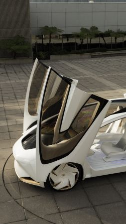 Toyota Concept-i, electric car, 5k (vertical)