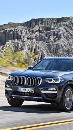 BMW X3, 2018 Cars, 4k (vertical)