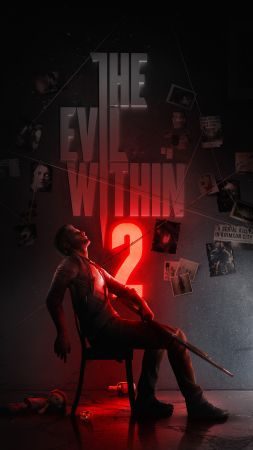 The Evil Within 2, poster, E3 2017, 8k (vertical)