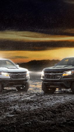 Chevrolet Colorado ZR2, 2018 Cars, 4k (vertical)