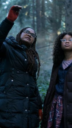 A Wrinkle in Time, Ava DuVernay, Storm Reid, 4k (vertical)