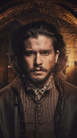 Gunpowder Season 1, Kit Harington, TV Series, 4k (vertical)