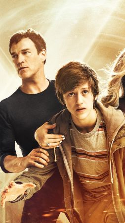The Gifted Season 1, Natalie Alyn Lind, Stephen Moyer, Percy Hynes White, Amy Acker, TV Series, 4k (vertical)