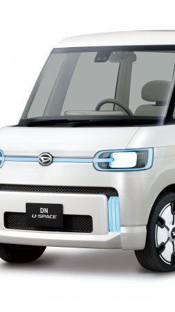 Daihatsu DN U-Space, electric car, 4k (vertical)