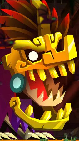 Guacamelee 2, screenshot, Paris Game Week, 4k (vertical)