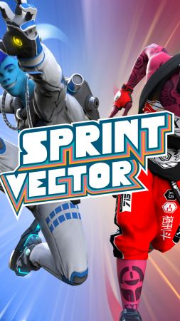 Sprint Vector, Paris Game Week, poster, 4k (vertical)