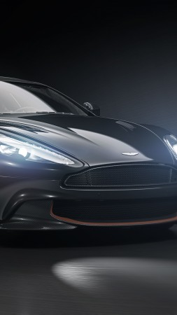 Aston Martin Vanquish S Ultimate, 2018 Cars, 4k (vertical)